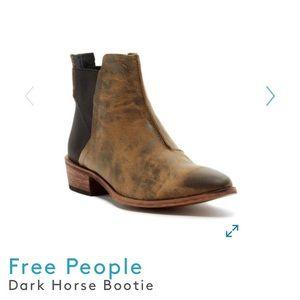 EUC Dark horse free people boot 8.5
